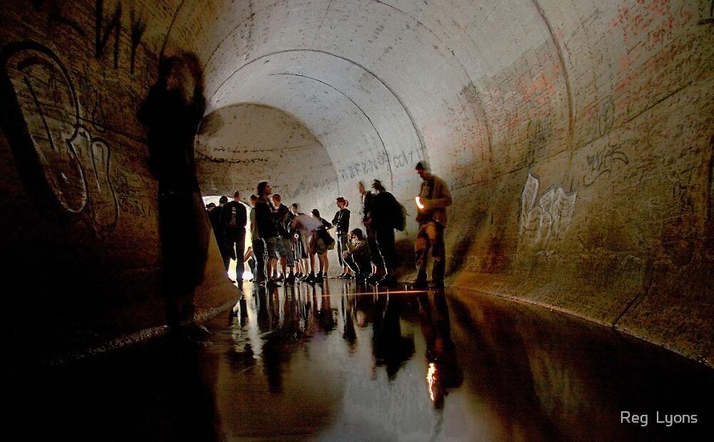 Lost Underground Civilization by Reg  Lyons