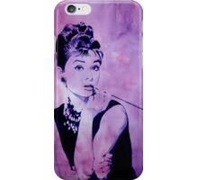 MISS GOLIGHTLY - Breakfast at Tiffany´s iPhone Case/Skin