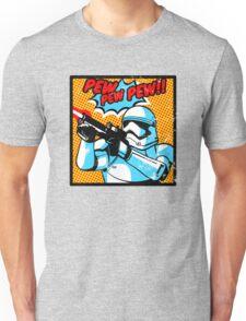 Pew pew pop art Unisex T-Shirt