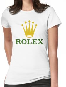 ROLEX Womens Fitted T-Shirt