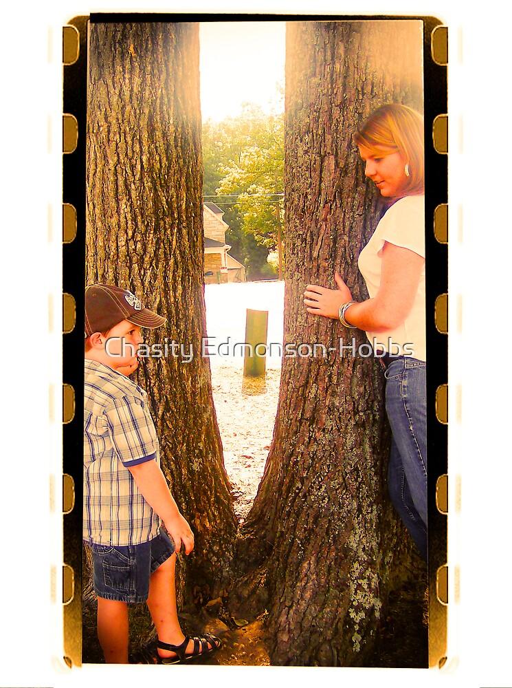 B & B next to the tree by Chasity Edmonson-Hobbs