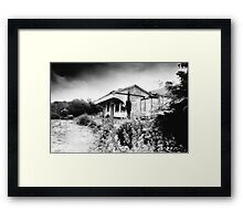 Abandoned Station, Desert, West Cork, Ireland Framed Print