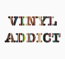 Record Collector - Vinyl Addict T-Shirt