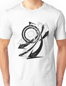 Arrows 01 - Curves Unisex T-Shirt