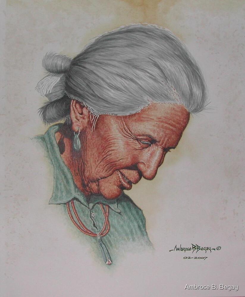 Sh amá Smiles by Ambrose B. Begay