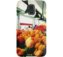 Sunday Morning Tulips Samsung Galaxy Case/Skin