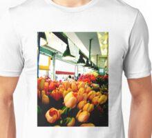 Sunday Morning Tulips Unisex T-Shirt