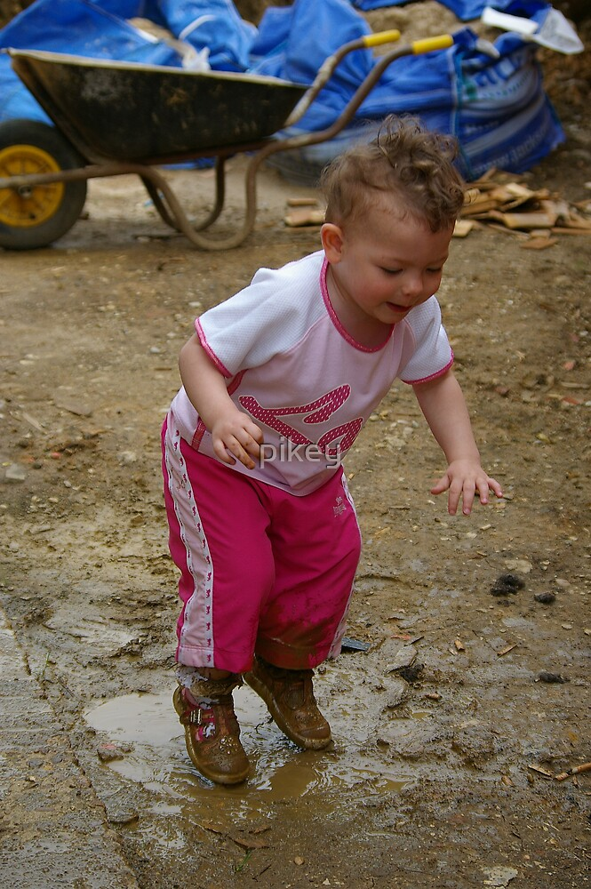 Puddle Jumpin! by pikey