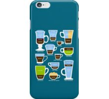 Espresso-Based Drinks Guide iPhone Case/Skin