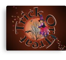 Trick Or Treat 2 Canvas Print