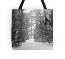 snow scene a Tote Bag