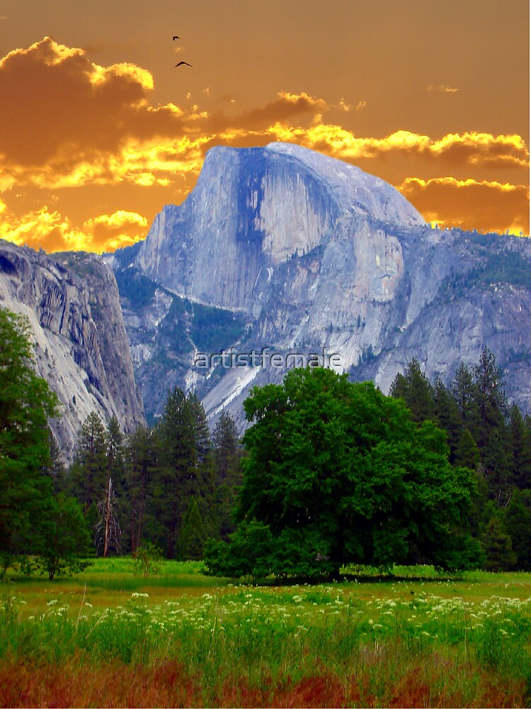 Half Dome Intense by artistfemale
