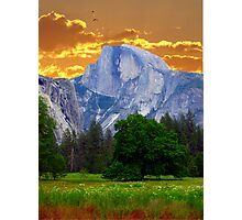 Half Dome Intense Photographic Print