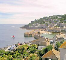 Mousehole, Cornwall by snurfdood