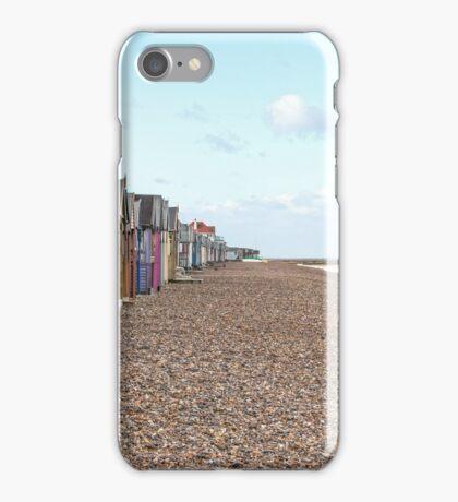 Kent Beach hut collection 1 iPhone Case/Skin