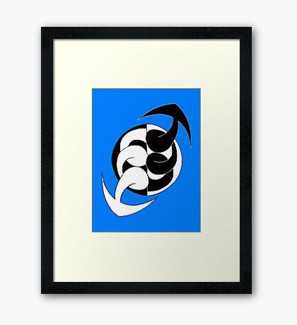 Arrows 02 - Ying & Yang Framed Print