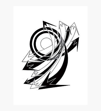 Arrows 01 - Curves Photographic Print