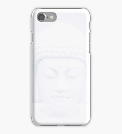 White buddah iPhone Case/Skin