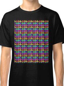 Rainbow Plaid  Classic T-Shirt