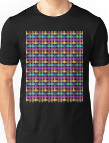 Rainbow Plaid  Unisex T-Shirt