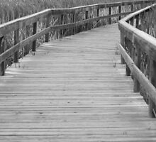 Wooden Bridge by Rebecca Jakel
