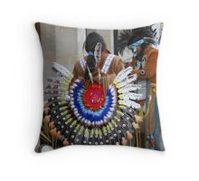 oxford natives Throw Pillow