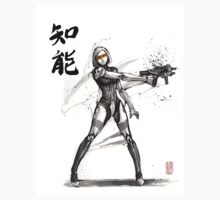 EDI from Mass Effect Universe sumi and watercolor style T-Shirt