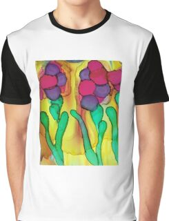 abstract flowere Graphic T-Shirt