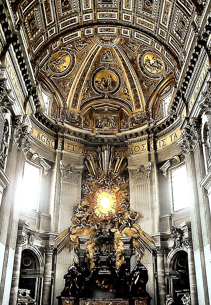 St. Peter's Basilica by Erika Benoit