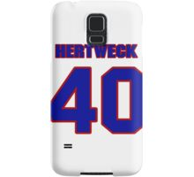 National baseball player Neal Hertweck jersey 40 Samsung Galaxy Case/Skin