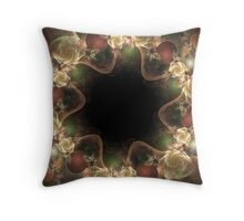 Tea Roses  Throw Pillow
