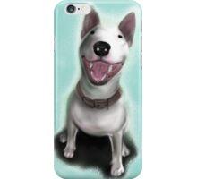 Lola English Bull Terrier Painting iPhone Case/Skin