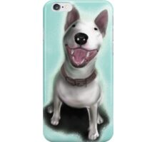 Lola English Bull Terrier Painting iPhone Case/Skin