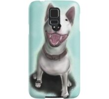 Lola English Bull Terrier Painting Samsung Galaxy Case/Skin