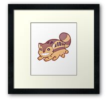 Catbus - Totoro Framed Print