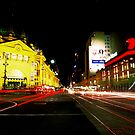 Flinders St by Steven Potashnyk