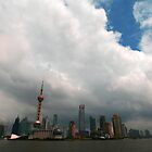 Chinese Skyline by Lindsay Davenport
