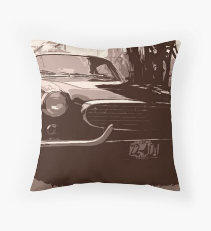 My Brother's Volvo Throw Pillow