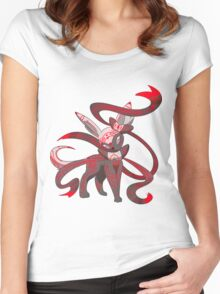Twilight Sylveon Women's Fitted Scoop T-Shirt
