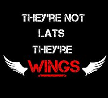 Not Lats... Wings by GymShirts