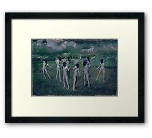 The nine Muses Framed Print