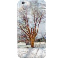 Winter Remembers: the Spring Lost iPhone Case/Skin