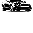 2012 Ford Shelby GT500  by garts