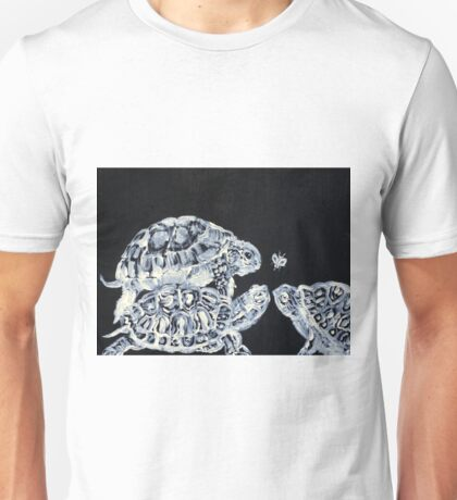 THREE  TERRAPINS AND ONE FLY Unisex T-Shirt