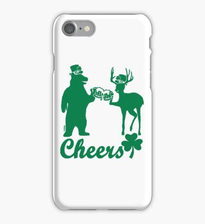 Happy St Patricks Day Cheers! iPhone Case/Skin