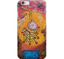 Particle Bursts - By Toph iPhone Case/Skin