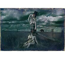 Eros and Psyche Photographic Print