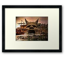 Voyage To Citadel Laufeia Framed Print