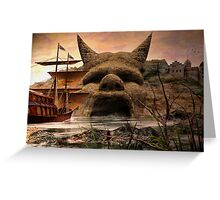 Voyage To Citadel Laufeia Greeting Card