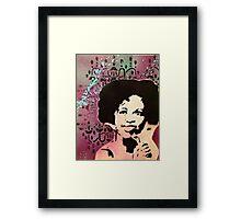 whitney houston Framed Print